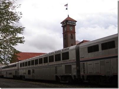 IMG_0090 Amtrak Superliner II Sightseer Lounge Car #33037 at Union Station in Portland, Oregon on October 23, 2009