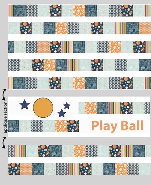 Play Ball Layout Diagram