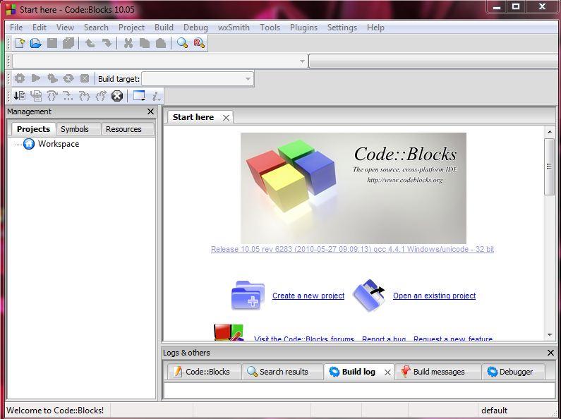 Setup GLFW project in code::block Code in code::blocks