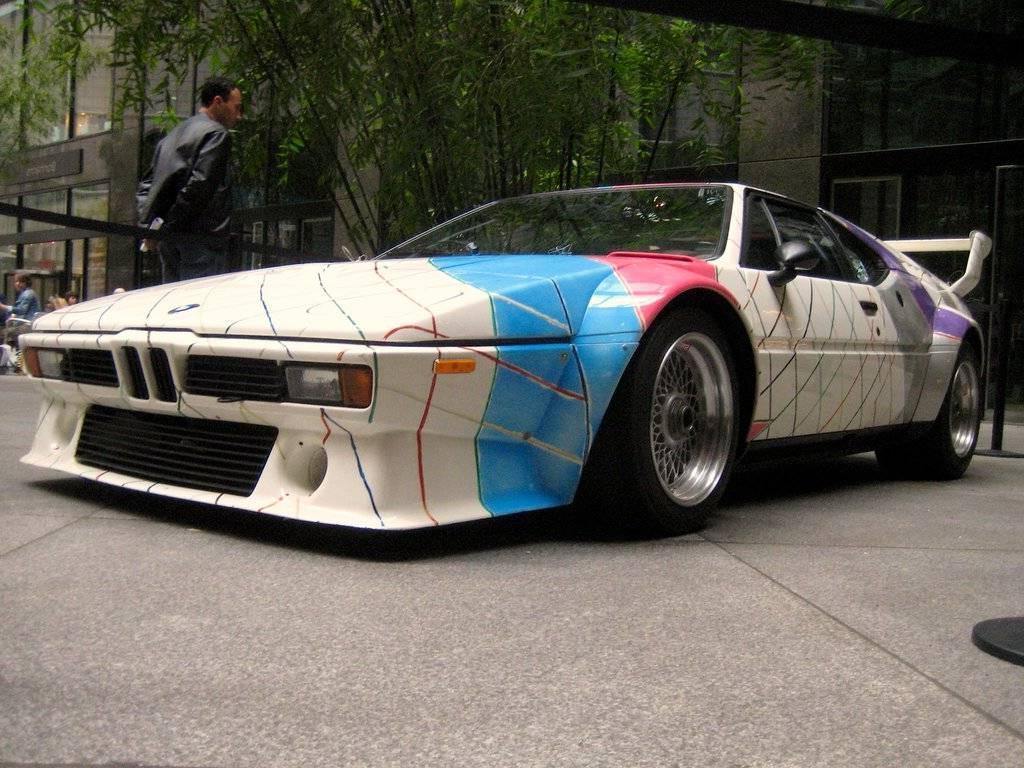 The 1979 BMW M1,