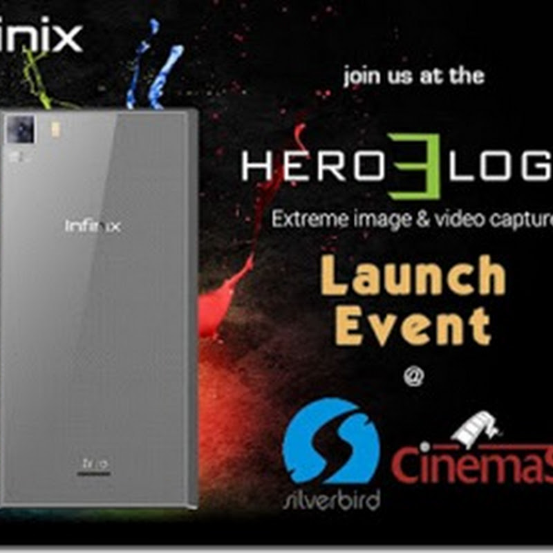 Get An Exclusive Invite To The Launching Of The Infinix Zero 3 #Hero3Logy