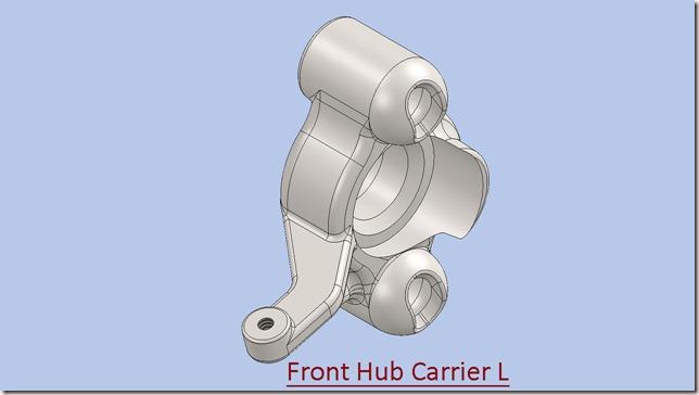 Front Hub Carrier L