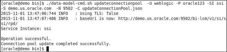 updateconnectionpool