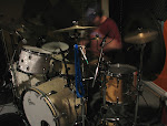 John was VERY excited to be back tracking drums after a few weeks off.  Here, he is approaching Mach-1.