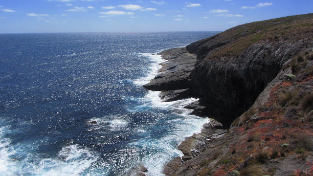 Kangaroo Island's rocky southwestern coast.