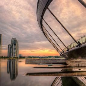Putrajaya lake Park by Cornell J. Asin - City,  Street & Park  City Parks