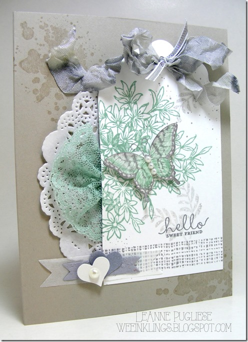 LeAnne Pugliese WeeInklings Paper Players 253 Awesomely Artistic Stampin Up