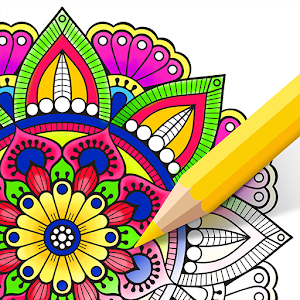 Coloring Book - Art of Mystery Icon