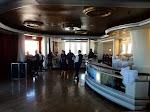 The dance floor area