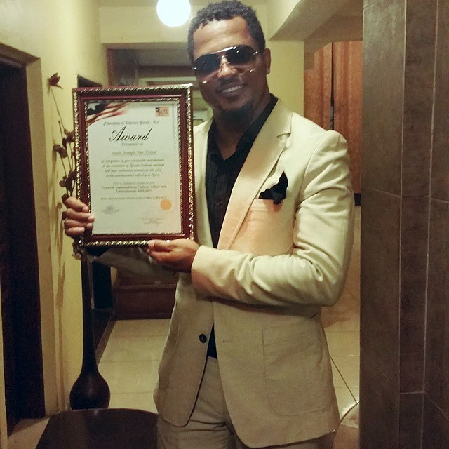 Van Vicker Appointed As The New Ambassador For Federation of Liberian Youth.