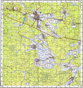 Map 100k--m35-031--(1993)
