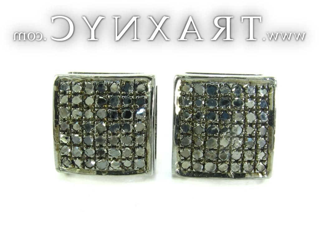 Black Color Square Diamond