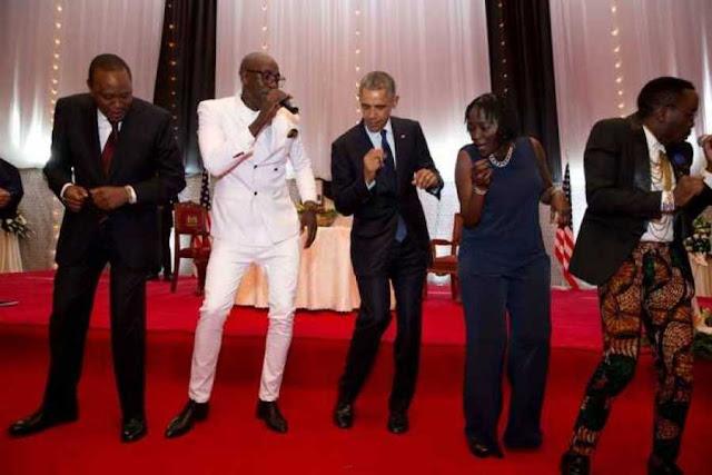 Sauti Sol With Barack Obama
