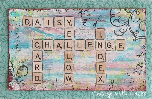 ICAD - Scrabble by Vintage with Laces