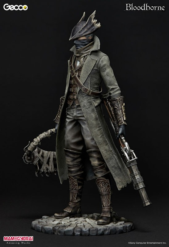 bloodborne hunter 01