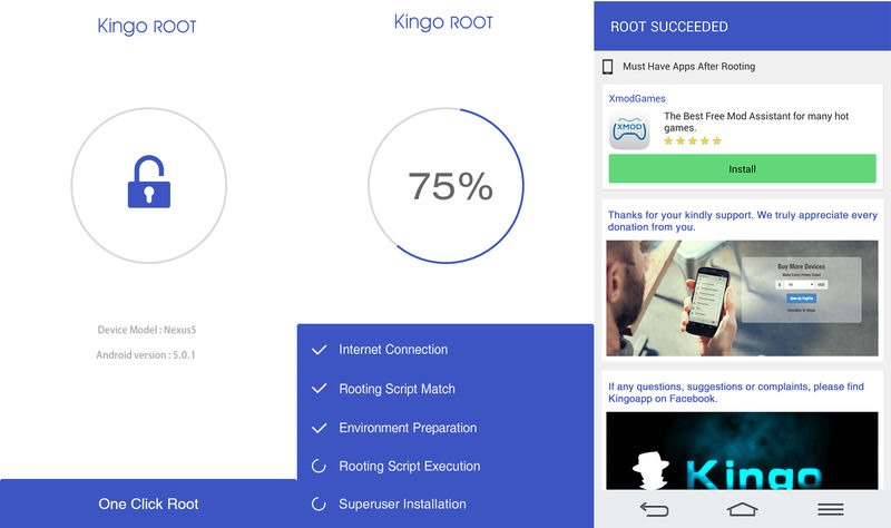 kingo root app android