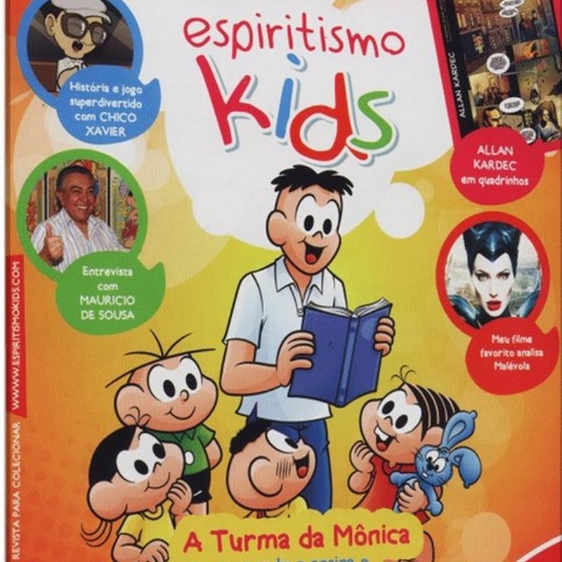 Espiritismo Kids: Turma da Mônica e Kardecismo Infantil