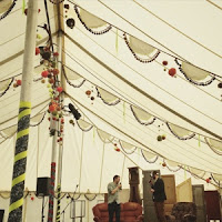 The Guardian Literary tent