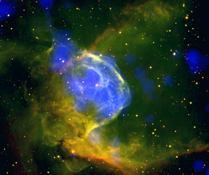 Nebulosa do Capacete de Thor