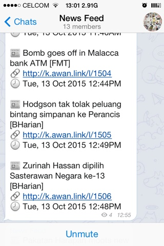 berita terkini terus di handphone menggunakan telegram