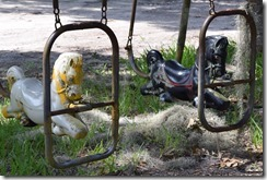 Old swingset