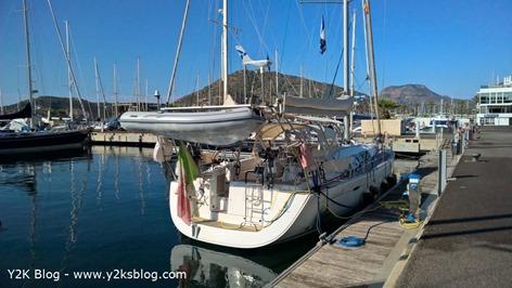 Y2K ormeggiata allo Yacht Port Cartagena - Cartagena