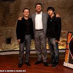 José Luis Ruiz del Puerto, Francisco Gil y Taiki Matsumoto.