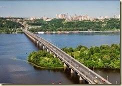 Paton Bridge  kiev