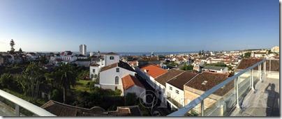 Vista desde a Residencial