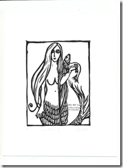 Fish-Wife-Mermaid-linocut