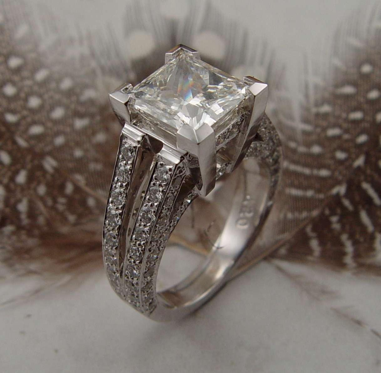 Custom Engagement Rings; Visit
