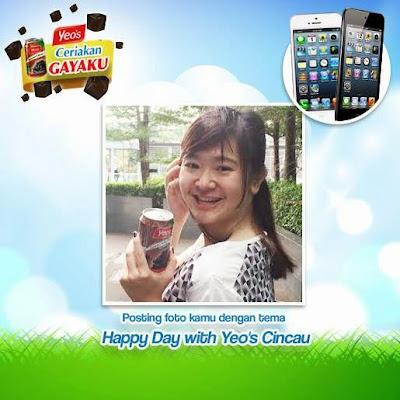 Kontes Foto Yeos Berhadiah iPhone 5 16GB