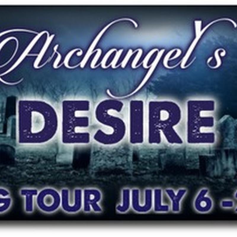 Blog Tour & Giveaway - Archangel's Desire by Karen Swart @karenswart1 @sparklebooktour