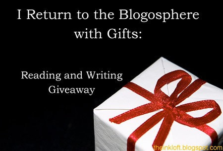 Reading and Writing Giveaway