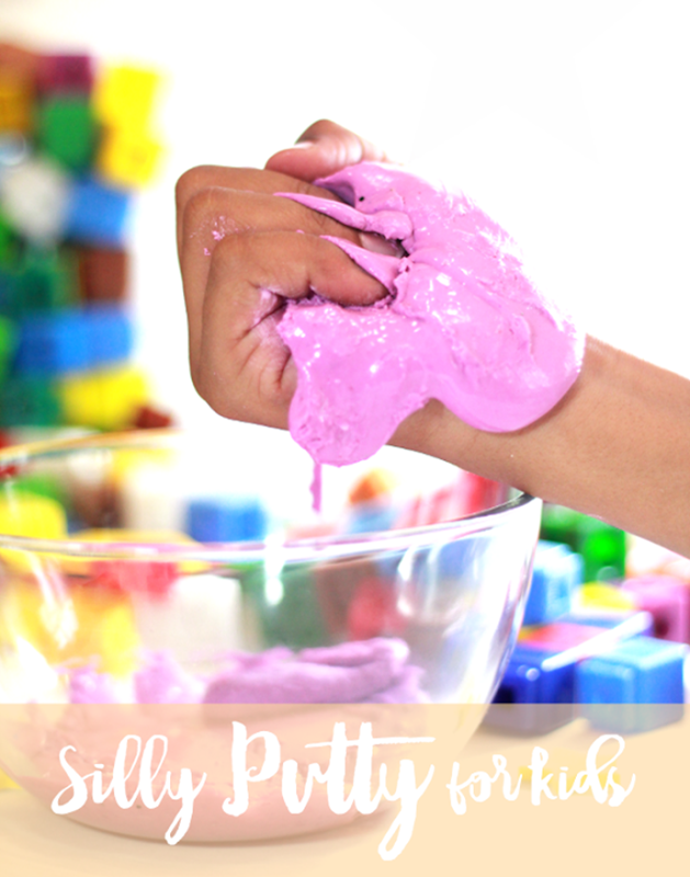Silly Putty with title