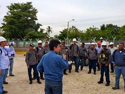 Protesta en Coveñas por restricción a líderes sindicales logra acuerdo para entrega de dotación