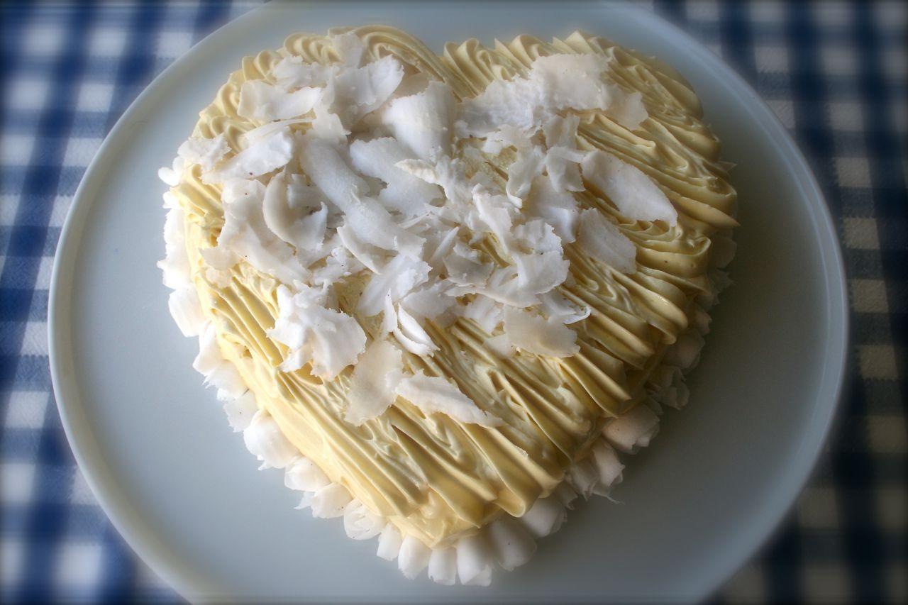 a miniature 3-tier cake,