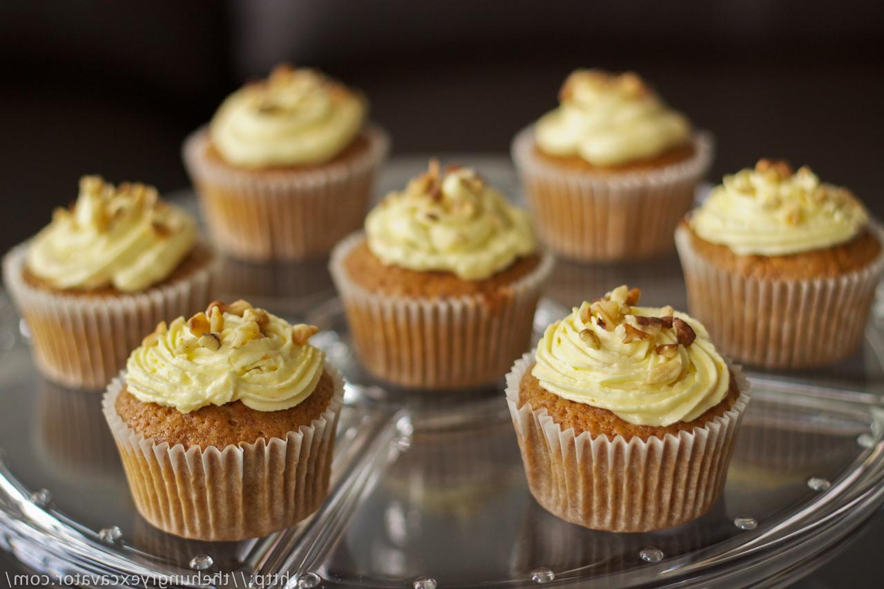 The PERFECT carrot cupcakes.