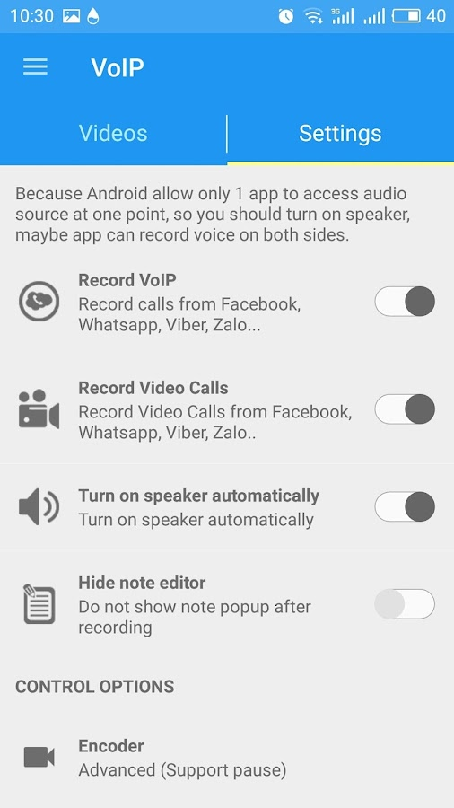 PRO Note Call Recorder Screenshot 4