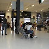 La gare d'Hendaye, lieu du plus grand passage au Pays Basque