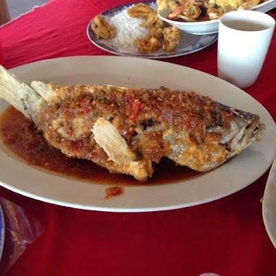 Aroma Ikan Bakar, Jeram