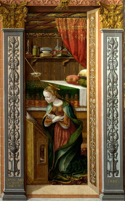 The Annunciation, with Saint Emidius
