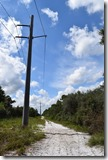 Road by power lines 2