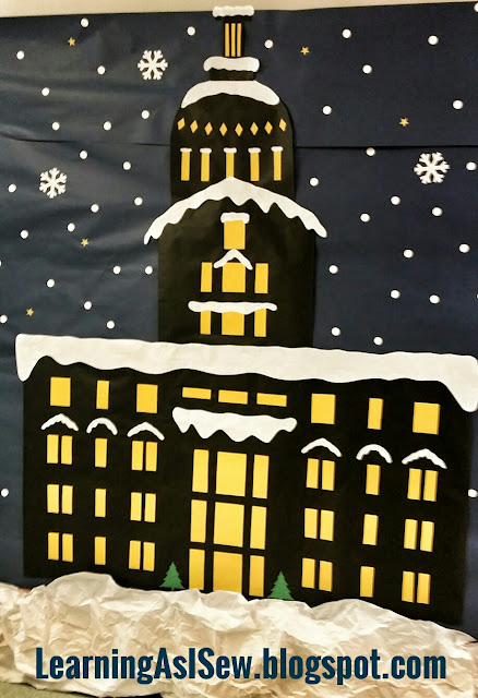 Polar Express Decor - Town Hall Courthouse