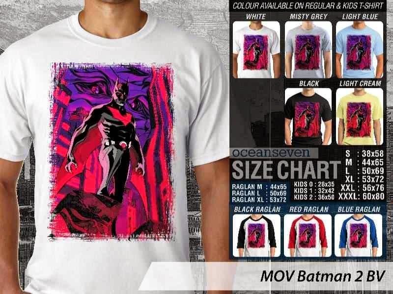 Kaos ie Batman 2 Batman distro ocean seven