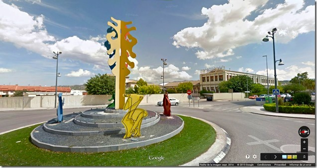 Rotonda Benilloba  ©GOOGLE STREET VIEW