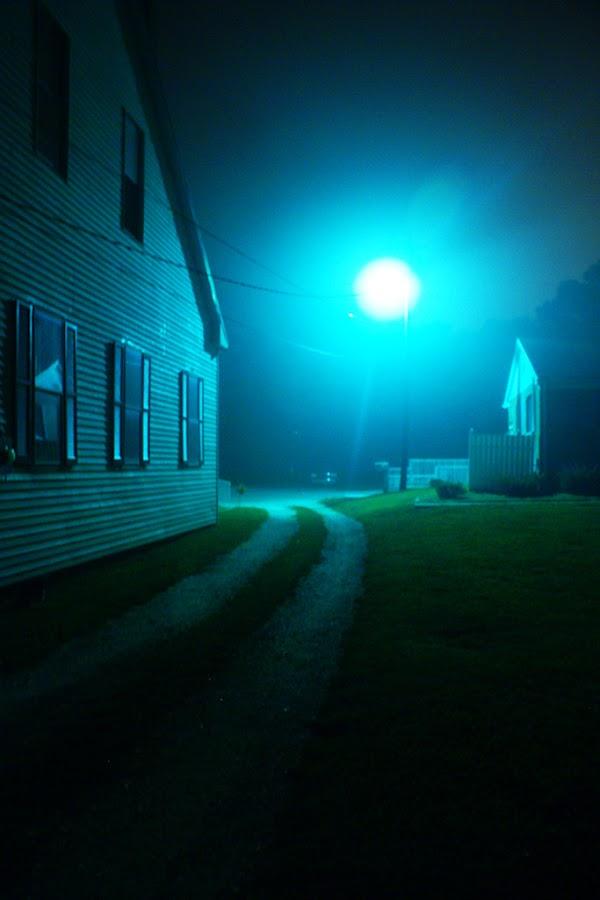 Nightlight by Kevin Sullivan - Abstract Fine Art ( denton, night )