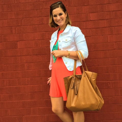 boho chic, mom fashion, white after labor day, how to wear a swing dress