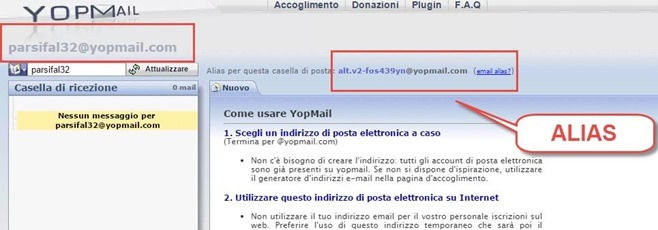 red tu creare email
