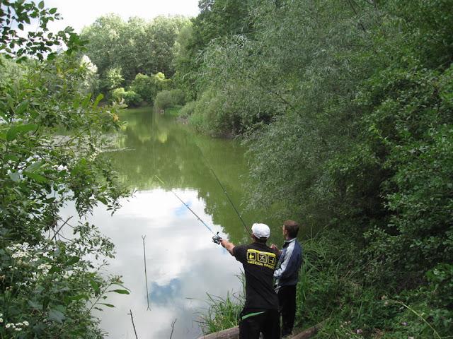 бесплатная рыбалка на озере